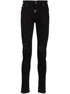 Czarne jeansy Represent