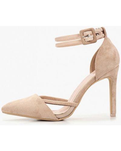 Туфли на каблуке с открытой стопой Damerose