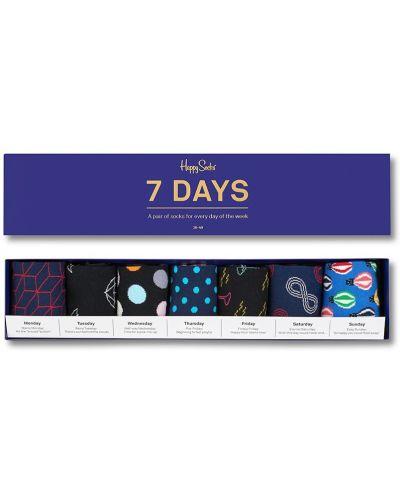 Носки 7 Days (7 пар) Happy Socks