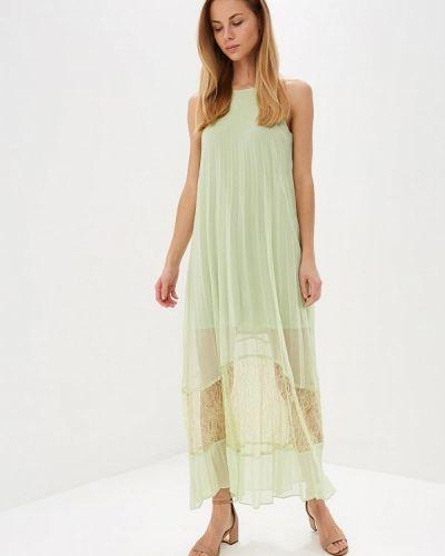 Зеленое платье прямое Love Republic