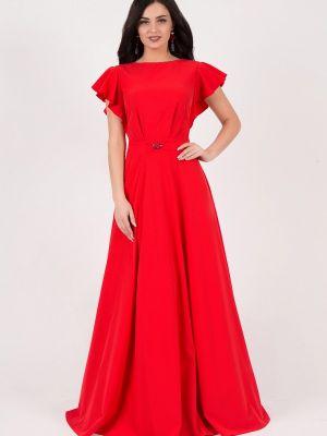 Вечернее платье красный Grey Cat