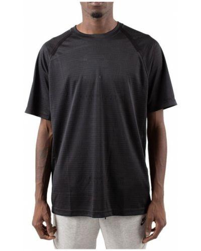 Czarna podkoszulka z raglanowymi rękawami Nike