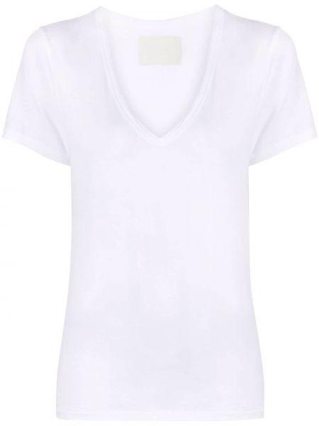 Прямая хлопковая белая футболка Citizens Of Humanity