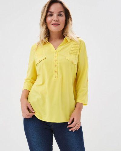 Блузка желтый Alona