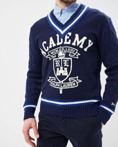 Синий пуловер Polo Ralph Lauren