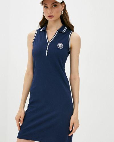 Синее платье Giorgio Di Mare