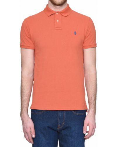 Поло оранжевый Ralph Lauren
