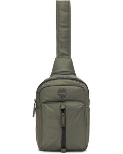 Нейлоновый черный рюкзак с карманами Marc Jacobs