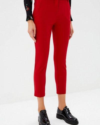 Красные брюки зауженные Pinko