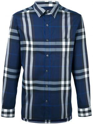 Klasyczna koszula - niebieska Burberry