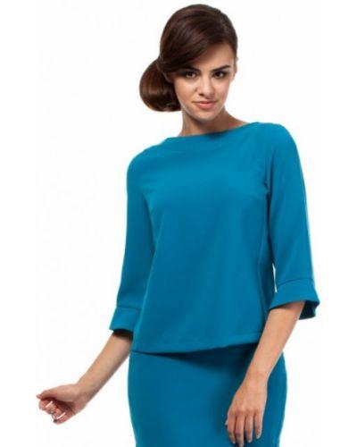 Bluzka elegancka - niebieska Moe