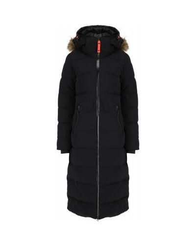 Черная теплая куртка Icepeak