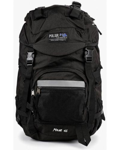 Текстильный черный городской рюкзак Polar