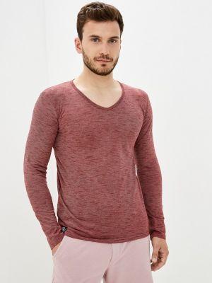 Бордовая зимняя футболка Hopenlife