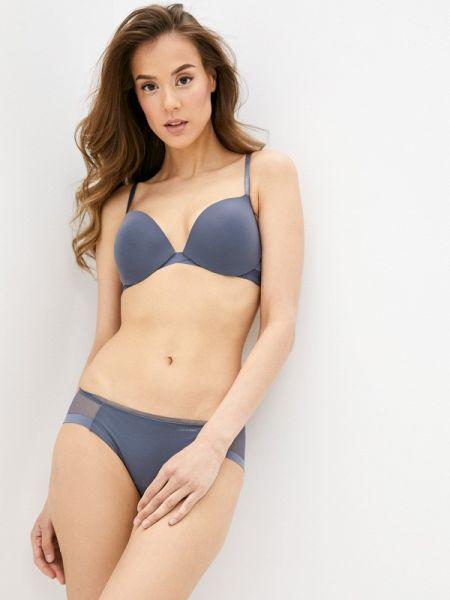 Бюстгальтер серый Calvin Klein Underwear