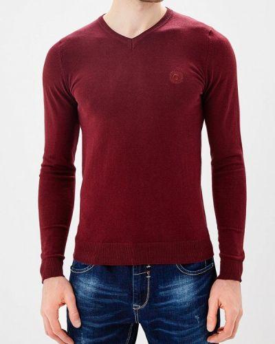 Пуловер красный бордовый Ombre
