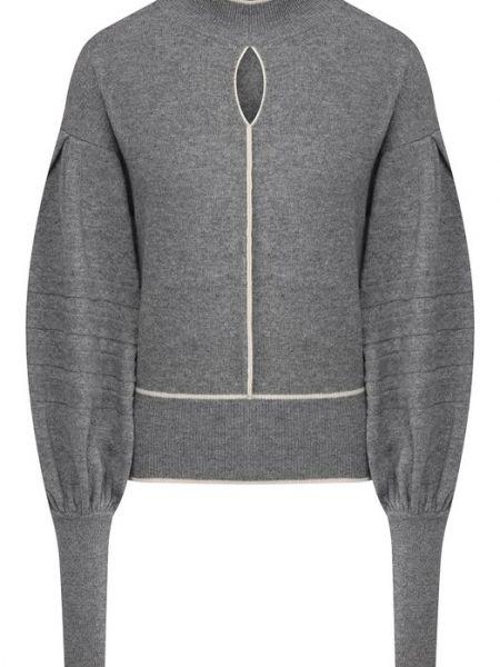 Кашемировый серый свитер Tegin
