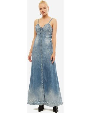 Джинсовое платье платье-сарафан Diesel