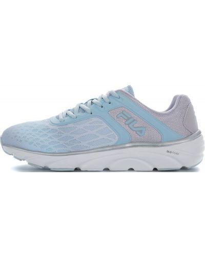 Кроссовки для бега на шнуровке мембранные Fila