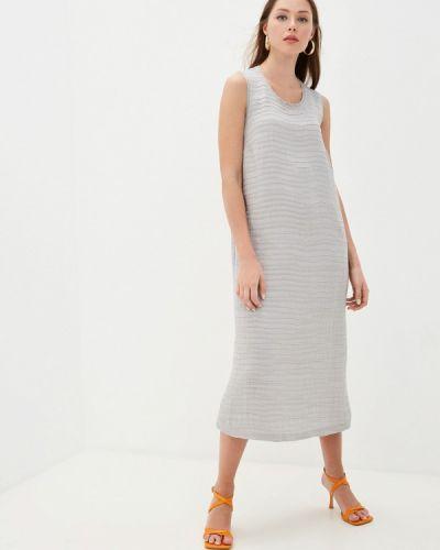 Серое платье Helmidge