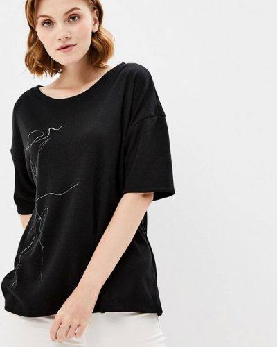 Черная футболка Grishko