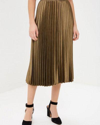 Плиссированная юбка осенняя Marks & Spencer