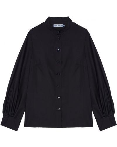 Блузка с длинным рукавом прямая с воротником Fashion. Love. Story.