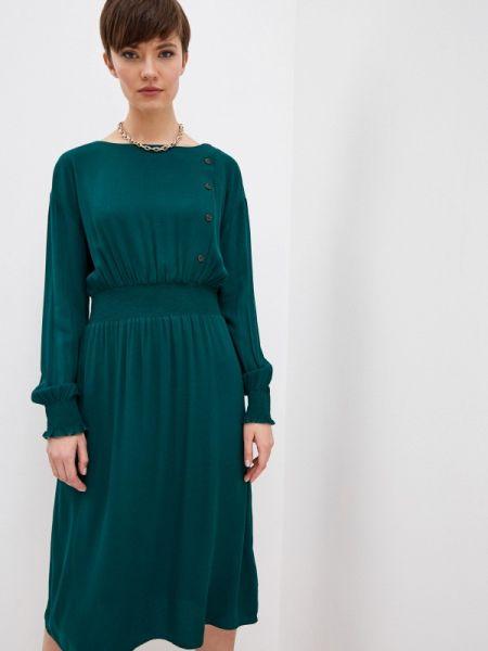 Платье прямое бирюзовый Zarina
