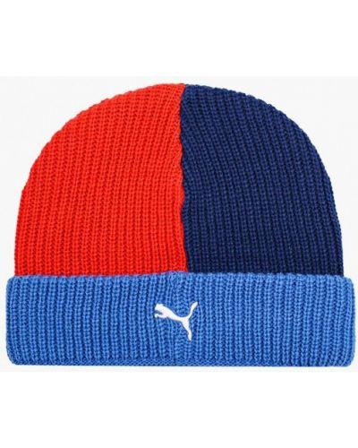 Разноцветная шапка Puma