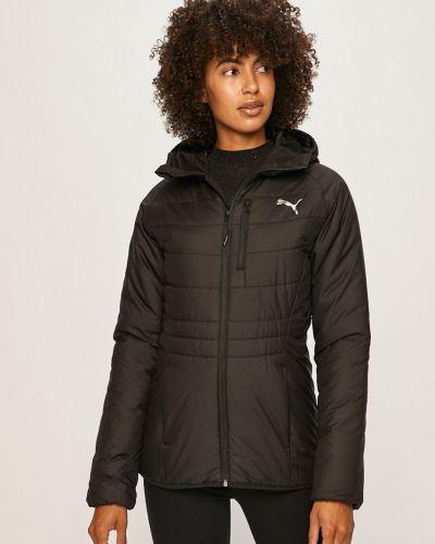 Куртка с капюшоном укороченная с карманами Puma
