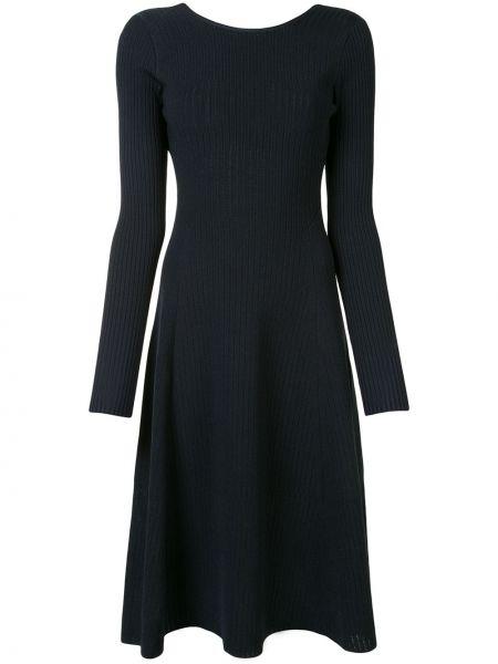 Платье миди с открытой спиной приталенное Victoria Beckham