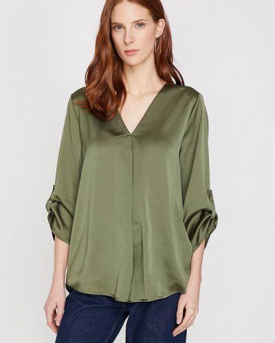 Блузка с длинным рукавом зеленый турецкий Koton