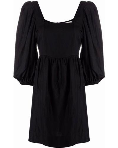 Черное платье из вискозы Ba&sh