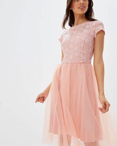 Вечернее платье розовое Vittoria Vicci