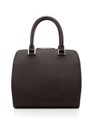 Коричневая сумка тоут Louis Vuitton