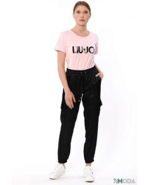 Брюки из вискозы Liu Jo Jeans