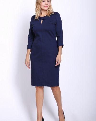 Платье из вискозы синее Betty Barclay
