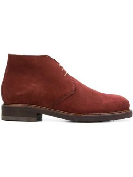 Туфли на шнуровке замшевые Berwick Shoes