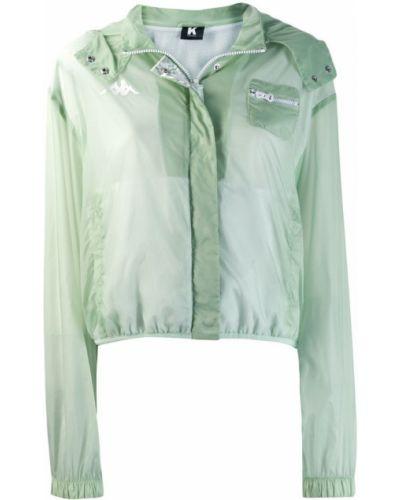 Куртка мятная Kappa Kontroll
