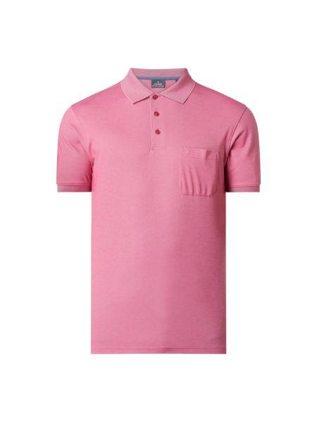 T-shirt bawełniana - różowa Ragman