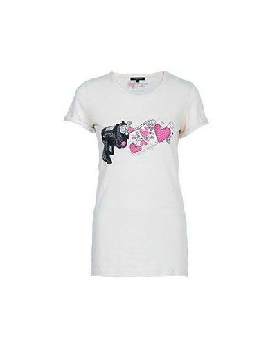 Серая футболка хлопковая Patrizia Pepe