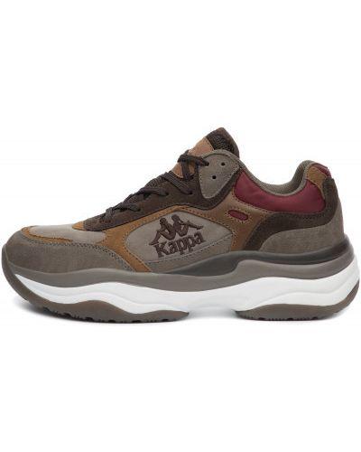 Кроссовки коричневый на шнуровке Kappa