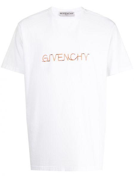 Bawełna koszula krótkie rękawy okrągły Givenchy