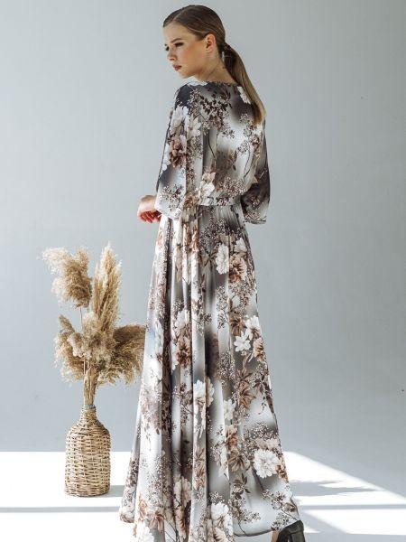 Серое платье Vovk