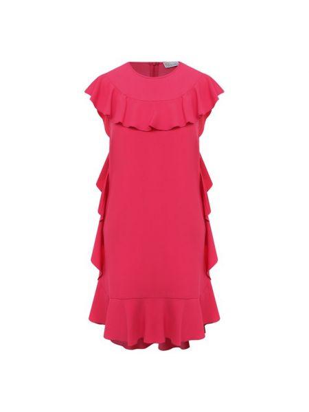 Купальник-платье итальянское розовое платье из вискозы Redvalentino