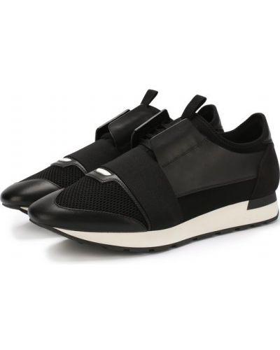 Кроссовки резиновые на шнуровке Balenciaga