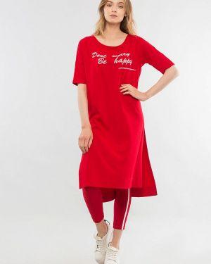 Костюмный красный костюм Maxa