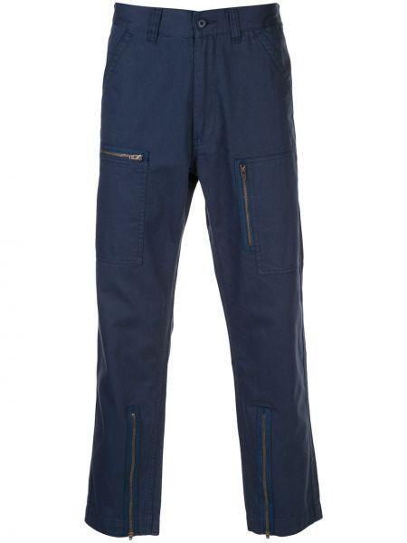 Niebieski bawełna bawełna majtki z kieszeniami Supreme