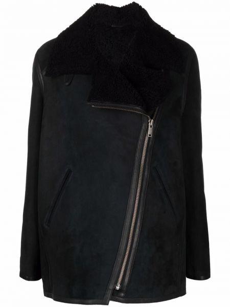 Черная кожаная куртка Isabel Marant étoile