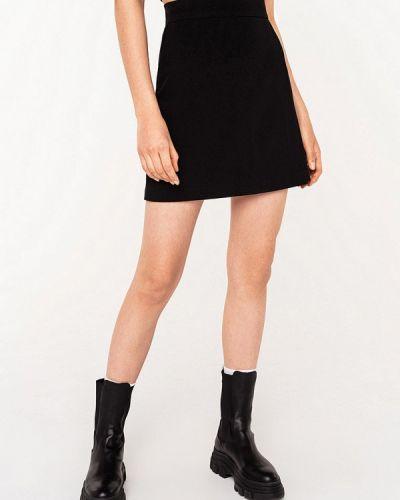 Черная юбка свободного кроя Befree